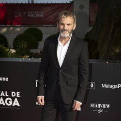 Fernando Tejero en la gala de inauguración del Festival de Málaga 2021