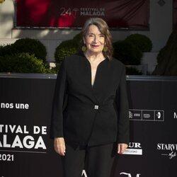 Petra Martínez en la gala de inauguración del Festival de Málaga 2021
