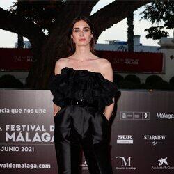 Paz Vega en la alfombra roja del Festival de Málaga 2021