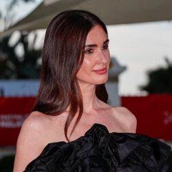 Paz Vega, feliz en la alfombra roja del Festival de Málaga 2021