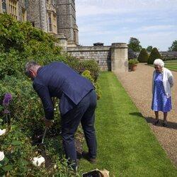 en homenaje al Duque de Edimburgo en el que hubiera sido su centenario.