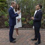 El Príncipe Guillermo y Kate Middleton con los Macron en la cumbre del G7 en Cornualles