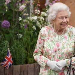 La Reina Isabel en la cumbre del G7 en Cornualles