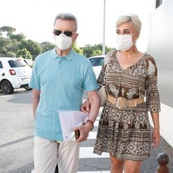 José Ortega Cano y Ana María Aldón acuden al hospital donde ha ingresado el torero