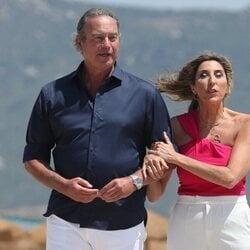 Paz Padilla con Bertín Osborne en Cádiz