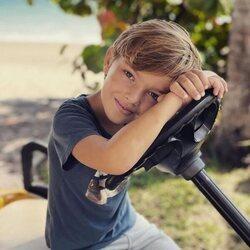 Nicolás de Suecia en su 6 cumpleaños