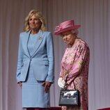 La Reina Isabel y Jill Biden en Windsor Castle