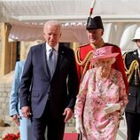 La Reina Isabel y Joe Biden en Windsor Castle