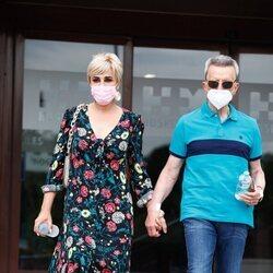 José Ortega Cano abandona el hospital con Ana María Aldón tras recibir el alta