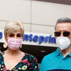 José Ortega Cano y Ana María Aldón a las puertas del hospital