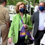 La Reina Sofía, de compras en Atenas