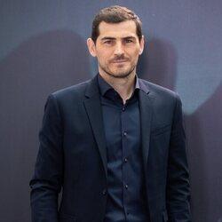 Iker Casillas en la presentación de su documental 'Colgar las alas'