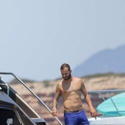 Jesé Rodríguez disfrutando de Ibiza