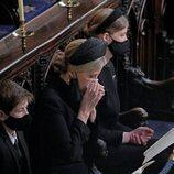 La Condesa de Wessex, muy afectada en el funeral del Duque de Edimburgo