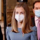 La Princesa Leonor ha acudido a la imposición de condecoraciones de la Orden del Mérito Civil 2021