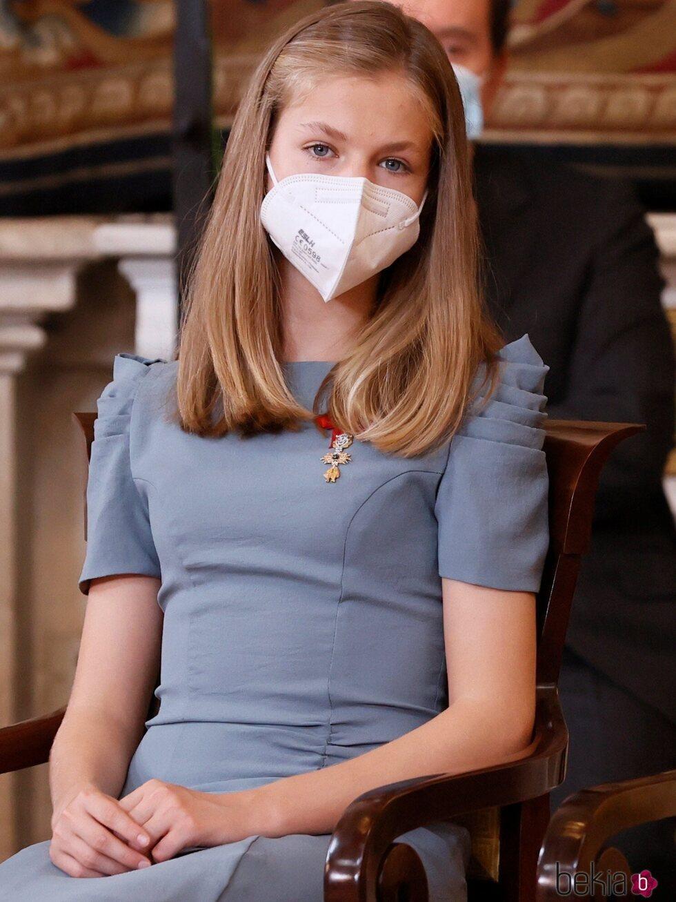La Princesa Leonor ha acudido al acto de imposición de condecoraciones de la Orden del Mérito Civil 2021