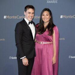 Louis Ducruet y Marie Chevallier en la clausura del Festival de Televisión de Monte-Carlo 2021