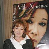 Mila Ximénez en la presentación de su libro