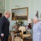La Reina Isabel recibe a Boris Johnson en audiencia por primera vez tras el inicio de la pandemia