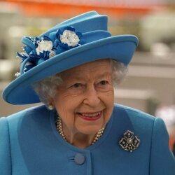 La Reina Isabel en su regreso a Escocia tras la muerte del Duque de Edimburgo