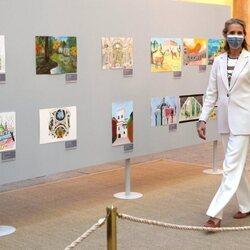 La Infanta Elena preside la entrega de los Premios de Pintura Infantil y Juvenil 2020-21 de Patrimonio Nacional