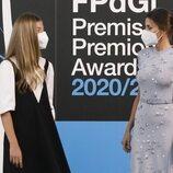 La Reina Letizia y la Infanta Sofía en los Premios Princesa de Girona 2020 y 2021