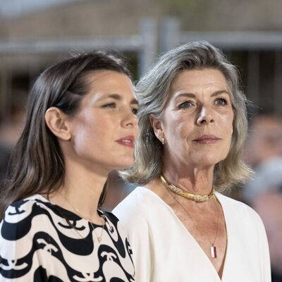 Carlota Casiraghi y Carolina de Mónaco en el Concurso de Saltos de Monte-Carlo 2021