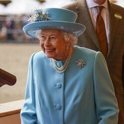 La Reina Isabel en el Royal Windsor Horse 2021