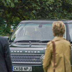 La Reina Isabel acude al Royal Windsor Horse 2021 conduciendo su coche