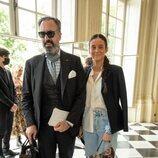 Jaime de Marichalar y Victoria Federica en el desfile de Alta Costura de Dior Otoño/Invierno 2021
