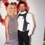 Katy Perry y Orlando Bloom en la cena de la Fundación Louis Vuitton