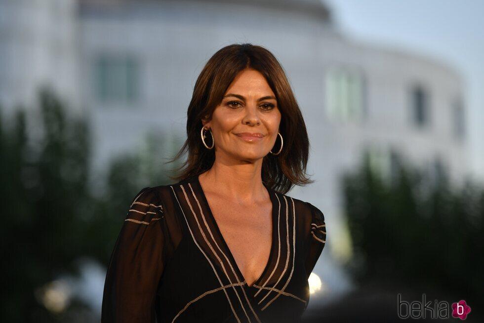 María José Suárez en un evento de moda