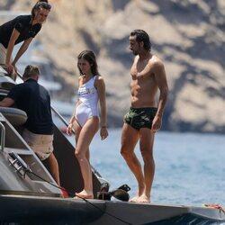 Sandra Gago y Feliciano López disfrutando de sus vacaciones en Ibiza