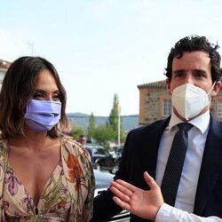 Tamara Falcó e Íñigo Onieva en la boda de Felipe Cortina