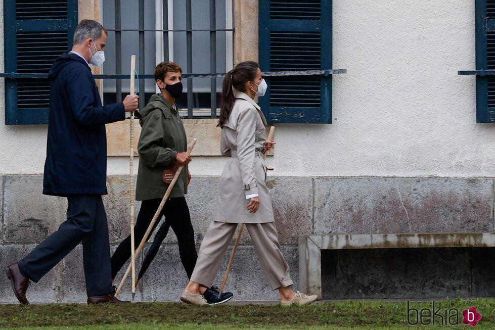Los Reyes Felipe y Letizia en la ceremonia de apertura del Año Jacobeo 2021