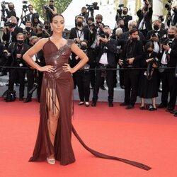 Georgina Rodríguez en la alfombra roja del Festival de Cannes 2021