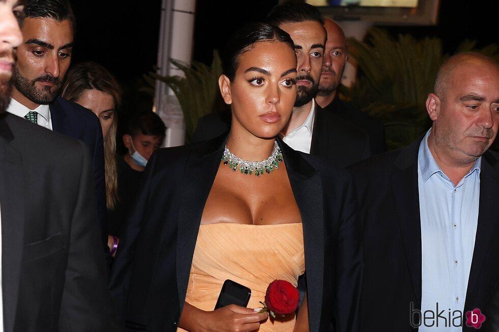 Georgina Rodríguez en la fiesta de Chopard del Festival de Cannes 2021
