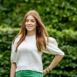 La Princesa Alexia de Holanda en el posado de verano 2021