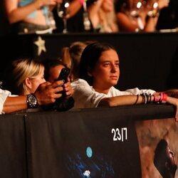 Victoria Federica en el concierto de Nicky Jam en el Starlite Festival 2021
