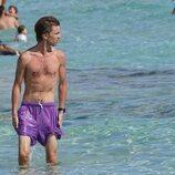 Christian de Hannover con el torso desnudo en Formentera