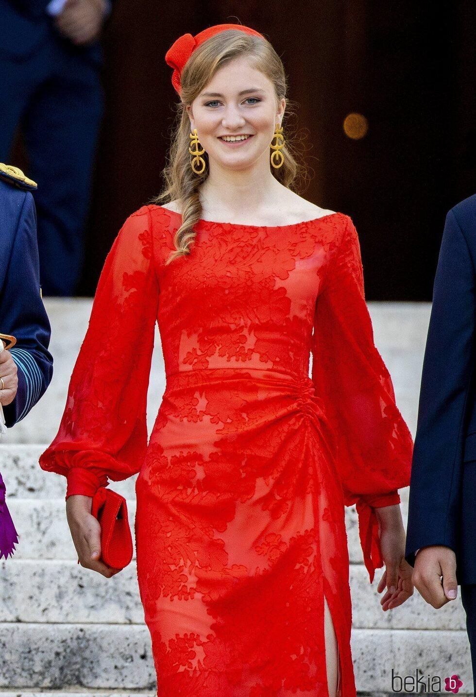 Isabel de Bélgica en el Día Nacional de Bélgica 2021