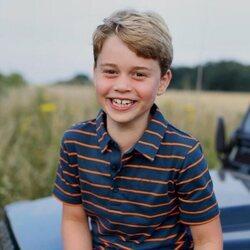 El Príncipe Jorge en su 8 cumpleaños