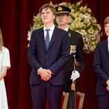 Leonor, Gabriel y Emmanuel de Bélgica en el Día Nacional de Bélgica 2021
