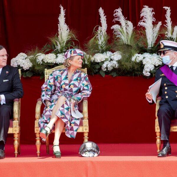 La Familia Real Belga en el Día Nacional de Bélgica 2021