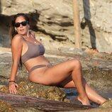 Anabel Pantoja posa en las playas de Ibiza