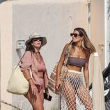 Anabel Pantoja y Susana Molina en las playas de Ibiza