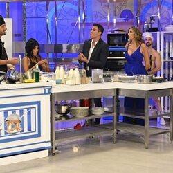 Kiko Jiménez discute con Asraf Beno a su llegada a 'La última cena'