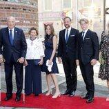 La Familia Real Noruega en el homenaje nacional por el décimo aniversario de los atentados de Oslo y Utøya