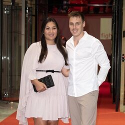 Louis Ducruet  y su mujer Marie Chevallier en la gala anual contra el SIDA