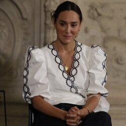 Tamara Falcó habla de la importancia de la religión en su vida en la Catedral de Burgos